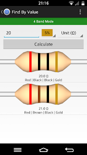 Resistor Tool - screenshot thumbnail