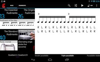 Screenshot of Rude Practice Pad - Play Drums