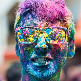 Holi Man by Alex Shanti - News & Events World Events ( festival, malaysia, holi, kuala lumpur,  )