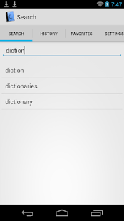 Pocket English Arabic Dict.- screenshot thumbnail