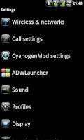 Screenshot of Anastasdroid BW - CM7 Theme