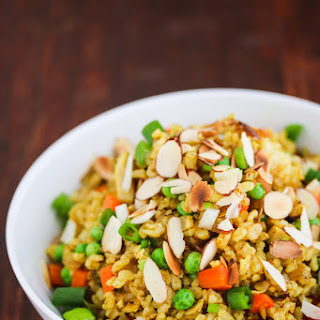 Chicken Curry Fried Rice.