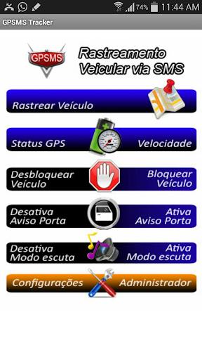 GPSMS Rastreador Grátis