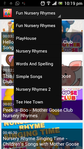 Fun Nursery Rhymes Videos