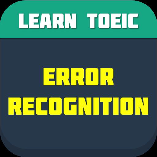 TOEIC Error Recognization FREE LOGO-APP點子