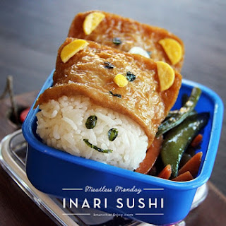 Inari Sushi for #MeatlessMonday