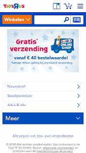 "Toys""R""Us Netherlands screenshot 0"