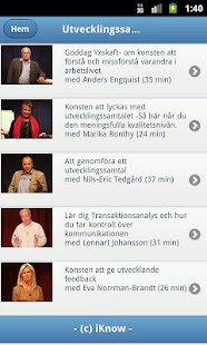 iKnow Mobile- screenshot thumbnail