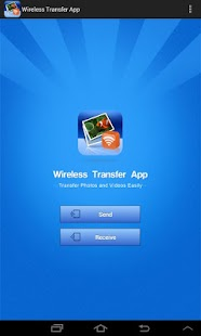 Wireless Transfer App- screenshot thumbnail