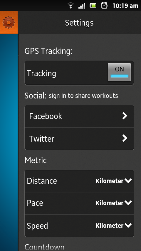 PERSONAL RUNNING TRAINER - screenshot