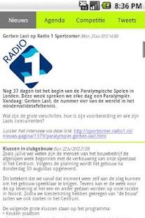 Tafeltennis Zwolle- screenshot thumbnail