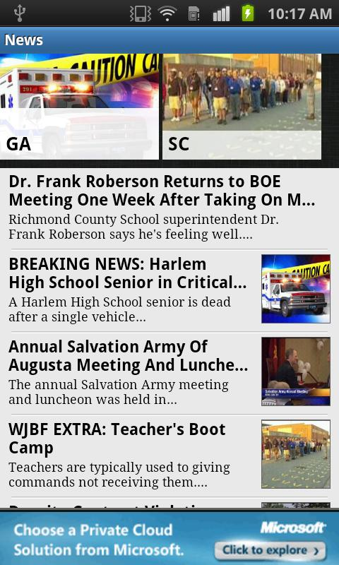 WJBF News Channel 6 - screenshot