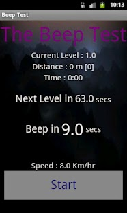 Beep Test - screenshot thumbnail