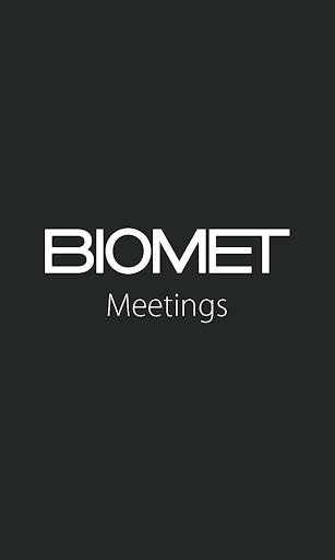 Biomet Meetings