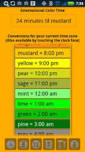 Color Time Clock - screenshot thumbnail