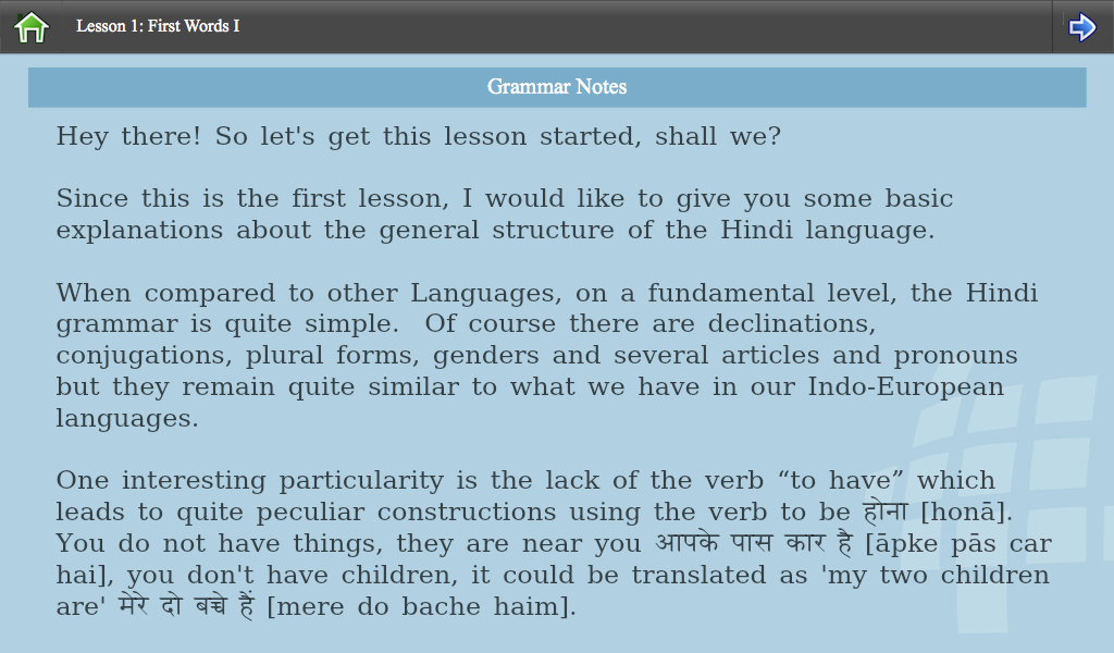 L-Lingo Learn Hindi- screenshot