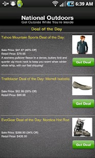 Daily Gear Deals - screenshot thumbnail