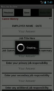 Resume Builder Pro - HD screenshot 3