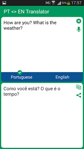 Portuguese English Translato