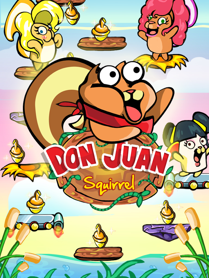 Don Juan Squirrel-Cute Jumper! - screenshot