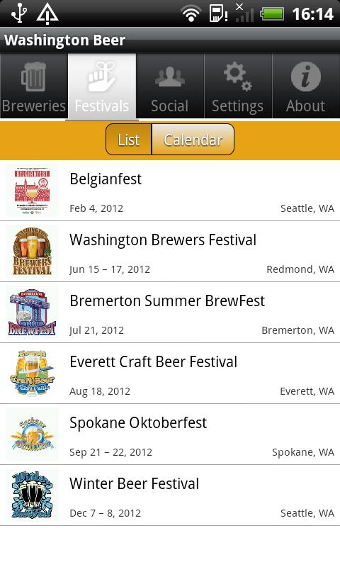Washington Beer - screenshot