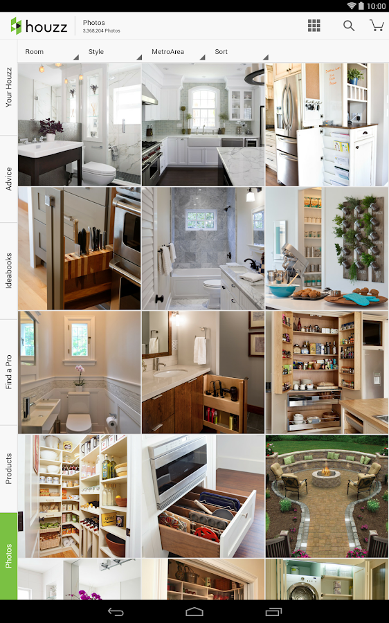 Houzz interior design ideas screenshot - Houzz interior design ...