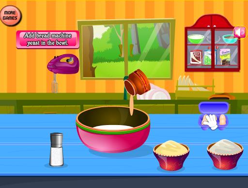ケーキ料理ゲームを作る