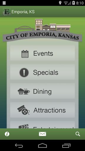E-Town App - Emporia Kansas