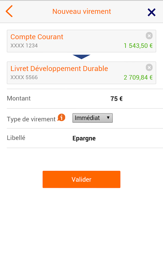 ING Direct France - screenshot