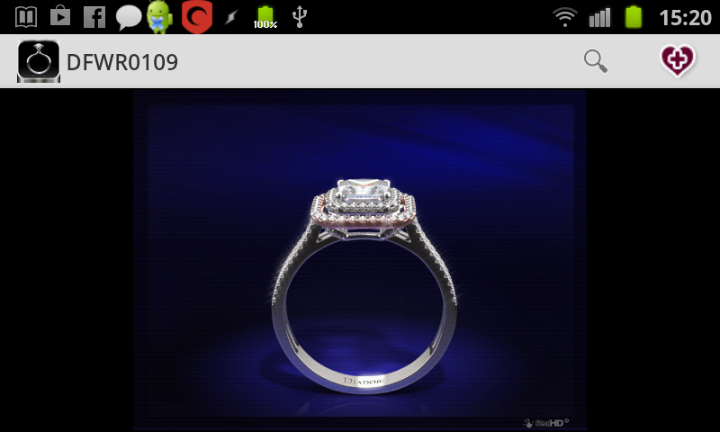 The Vow Engagement Ring Finder - screenshot