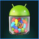 Jelly Bean GO Theme mobile app icon