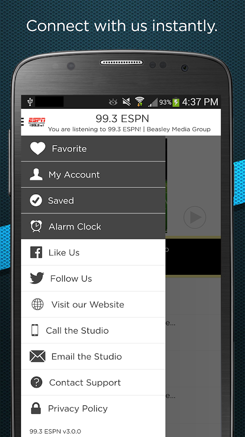 99.3 ESPN- screenshot