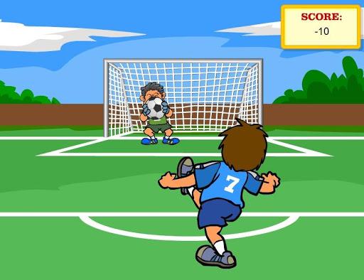 サッカー挑戦