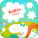 Kakaotalk theme-WhiteCrocodile icon