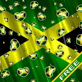Heart Flag Jamaica Free