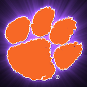 Clemson Tigers Clock Widget