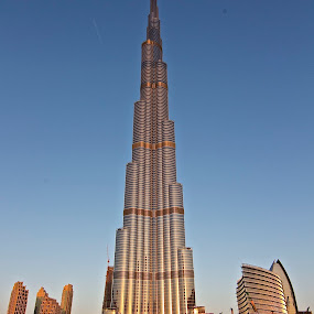 Gold Needle by Yadi Kustiadi - Buildings & Architecture Other Exteriors ( dubai, burj khalifa )