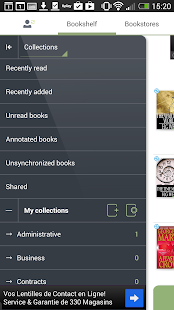 Bookari Free Epub PDF Reader – Miniaturansicht des Screenshots