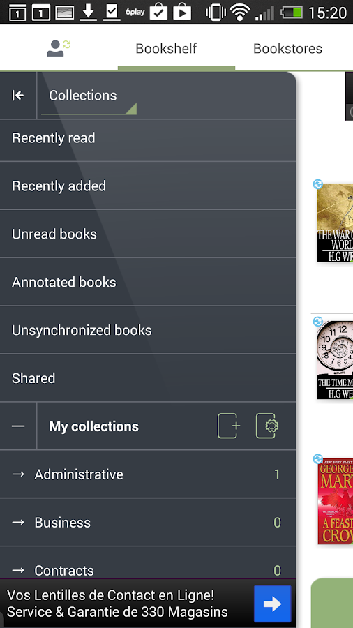 Bookari Free Epub PDF Reader – Screenshot