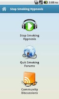 Screenshot of Stop Smoking Hypnosis Audio