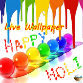 Holi Live Wallpaper
