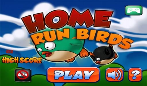Home Run Stupid Birds 3D