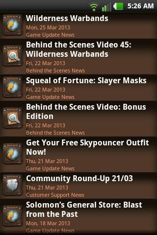RuneScape Rune Tool - screenshot