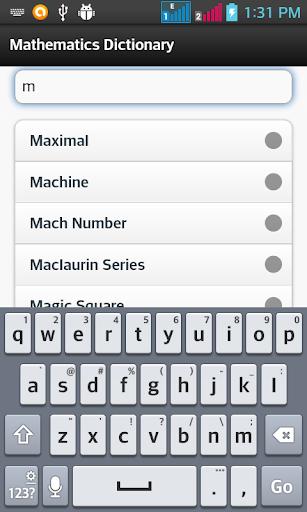 【免費教育App】Mathematics Dictionary-APP點子