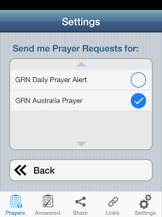 Mission Prayers- screenshot thumbnail