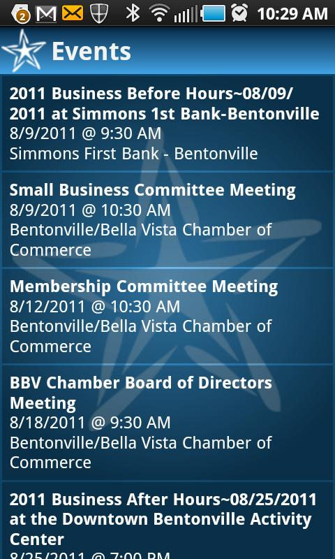BBChamber2Go - screenshot