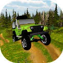 Off road racing 3d logo