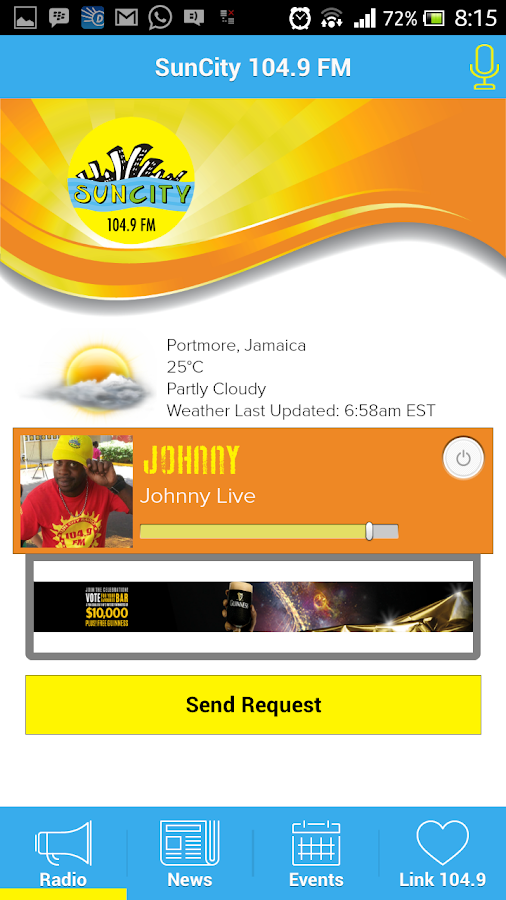 SunCity Radio- screenshot