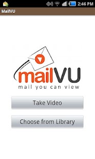 mailVU Video Sharing- screenshot thumbnail