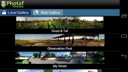 Photaf Panorama (Free) screenshot 1